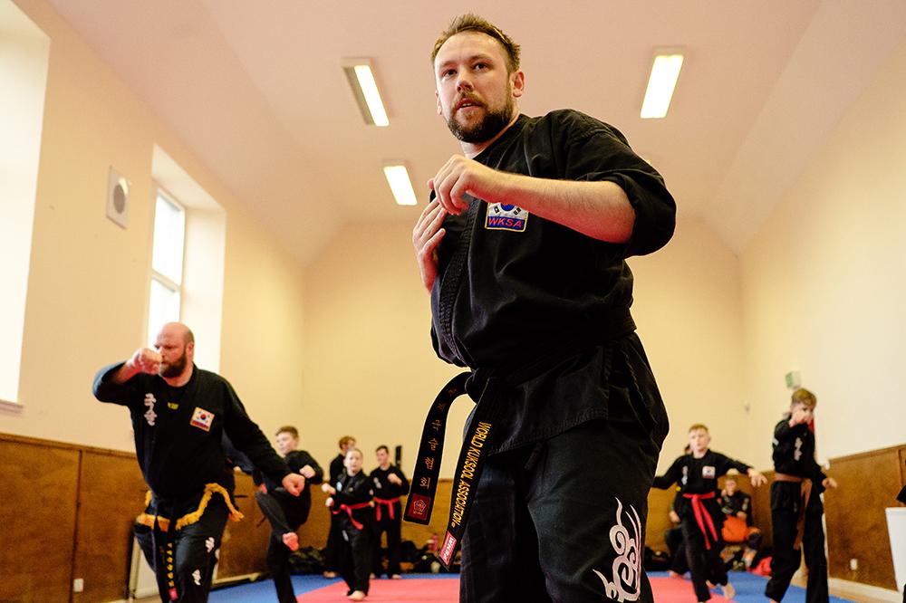 Scott McManus Kuk Sool Won Kirkcaldy Black Belt