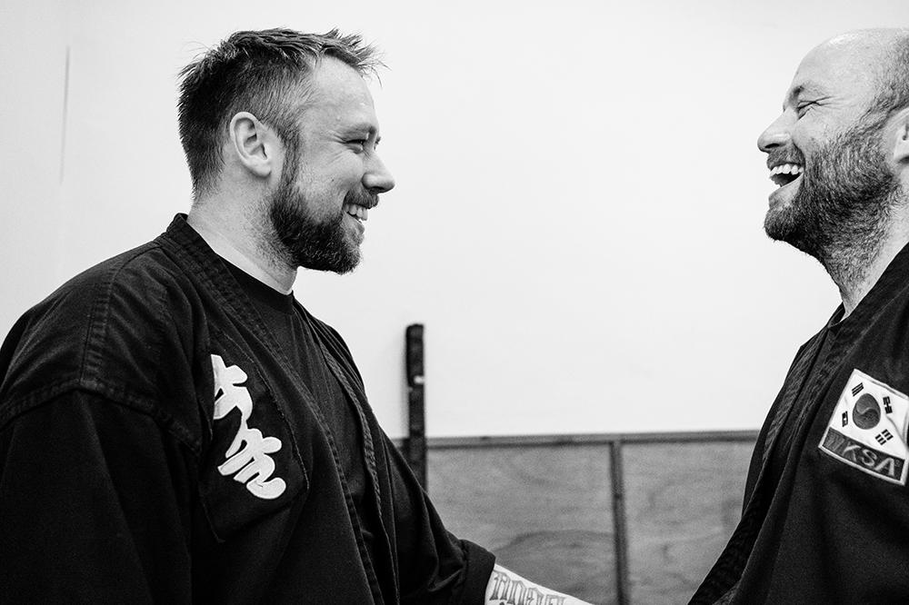 Martial arts friendships - Kuk Sool Won Kirkcaldy