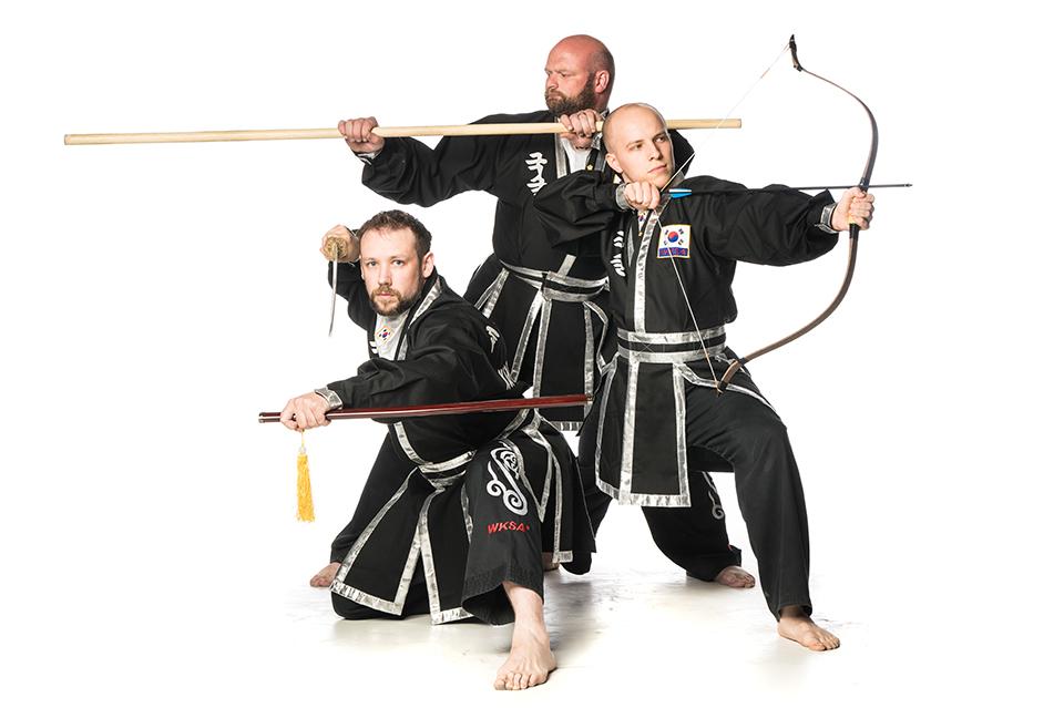 Kuk Sool Won Kirkcaldy Martial Arts Weapons
